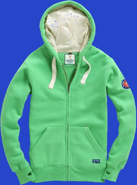 14ENDER Hoody green