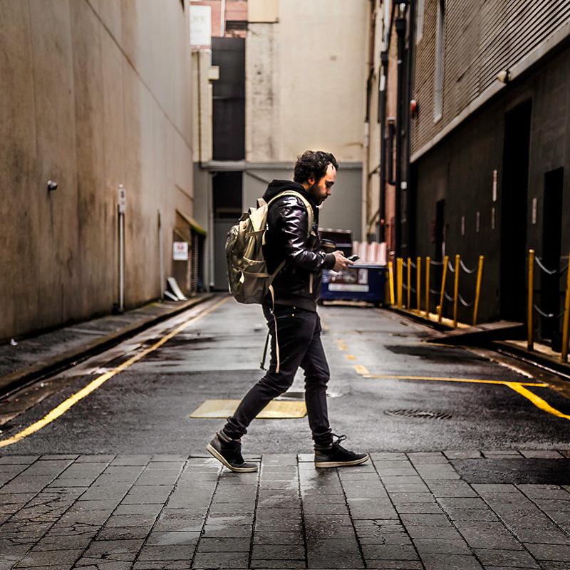 Walking-Mann
