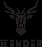 14Ender Logo schwarz transparenter Hintergrund