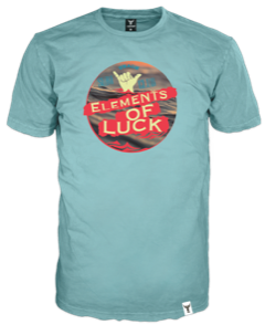 elements of Luck light blue small